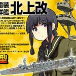 艦これプラモデル 重雷装巡洋艦 北上改 アオシマから発売